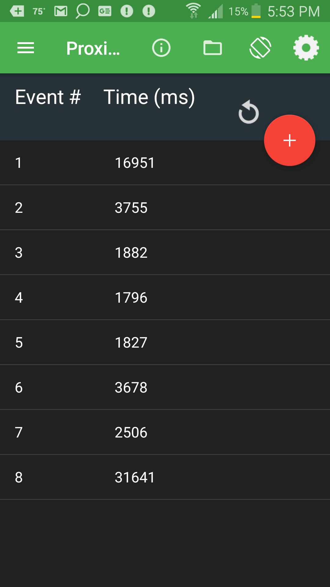Using Smart Phone To Calculate Period Of A Pendulum