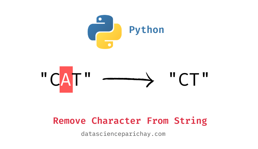 Remove character from string in python