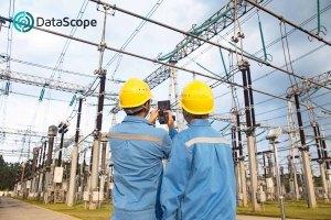 fotografia a central eléctrica