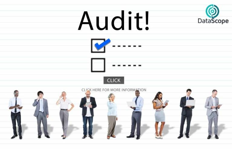 grafica de auditorías