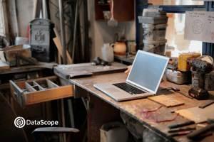 taller con un computador