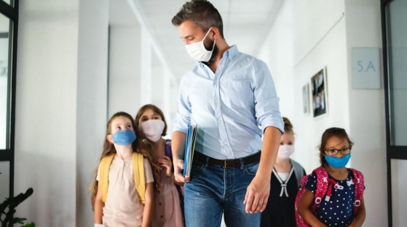 Classroom Study Highlights Delta Variant's Threat To Schools