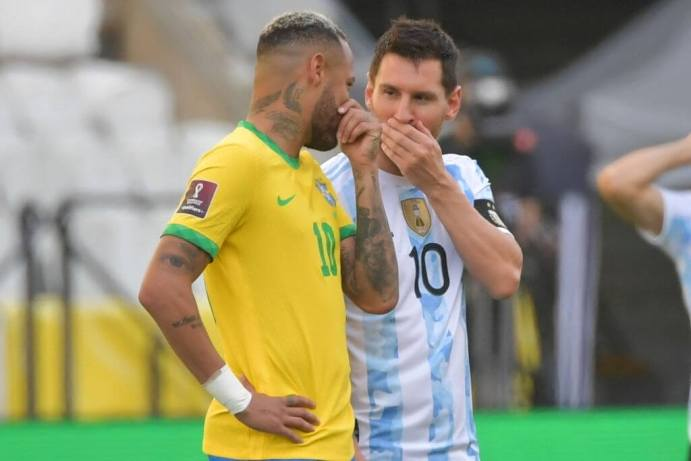 Brazil Vs. Argentina World Cup Qualifier Suspended, As Four Argentinian Players Accused Of Breaking Covid Travel Protocols