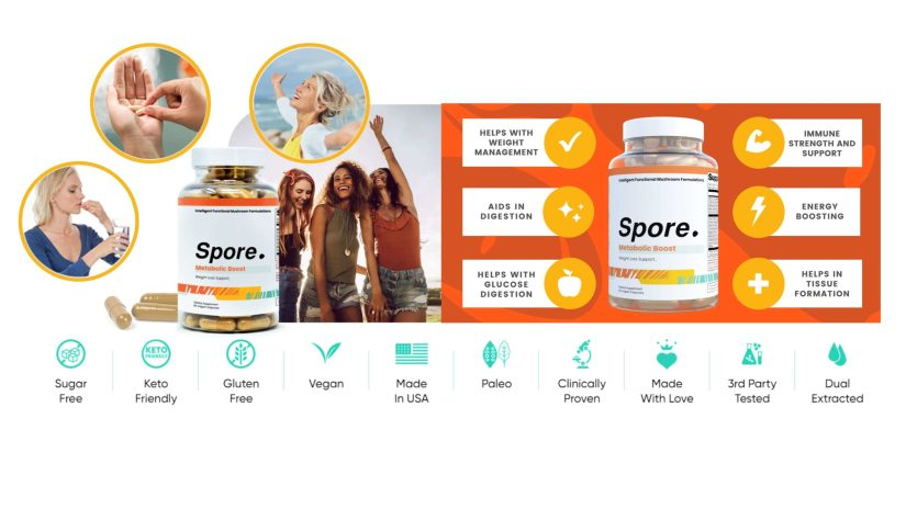 Spore Metabolic Boost Results