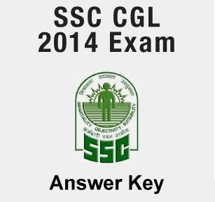 SSC CGL Answer key 2014