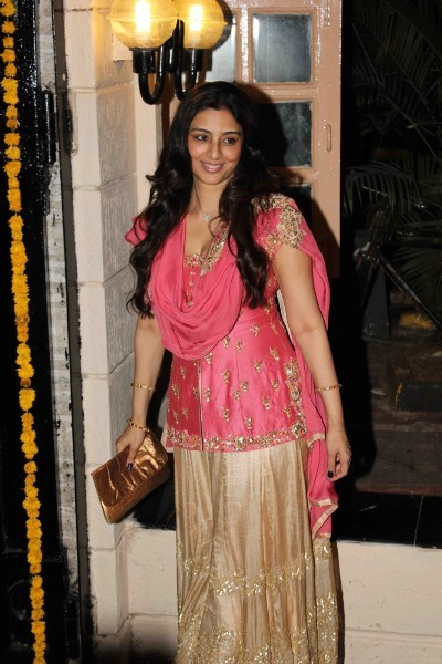 Tabu at Ekta Kapoor hosted Diwali 2014 party 1