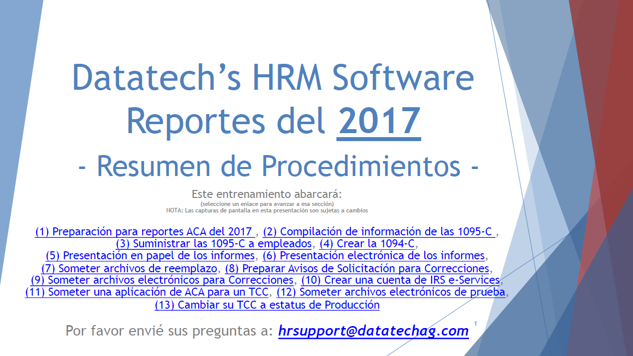 Spanish Instructions for 2017 ACA Information Returns Now Available