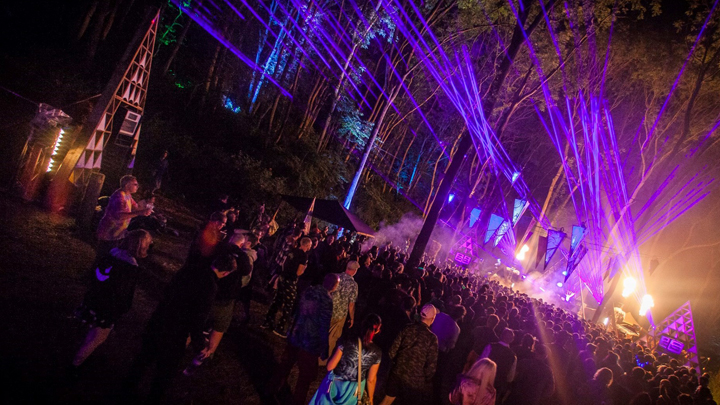 Noisily at night
