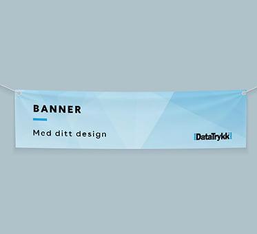 banner, banner med trykk, datatrykk