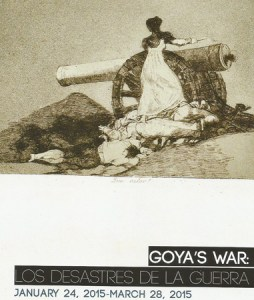Goya's War flyer DATATVS