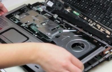 Повреждения клавиатуры ноутбука