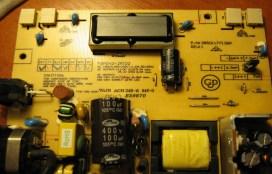 Ремонт замена конденсаторов и резисторов в мониторе кривой рог