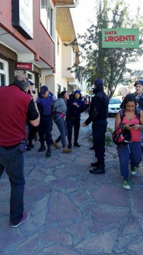 Represión en Bariloche al Pueblo Mapuche