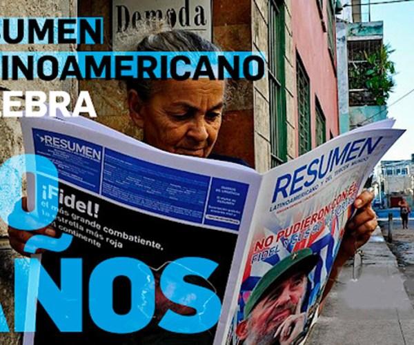 30 años Resumen Latinoamericano - Portada