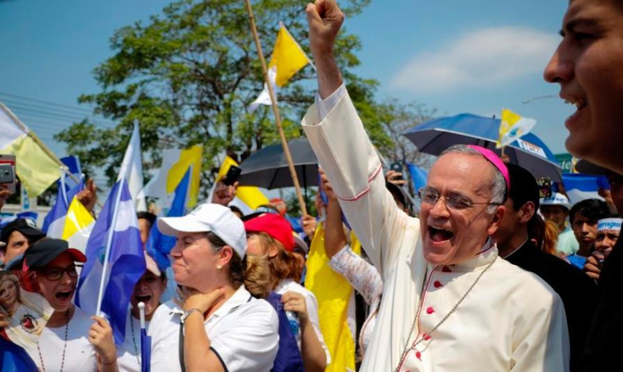 Apoyo popular a Daniel Ortega en Nicaragua