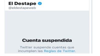 El Destape - Twitter