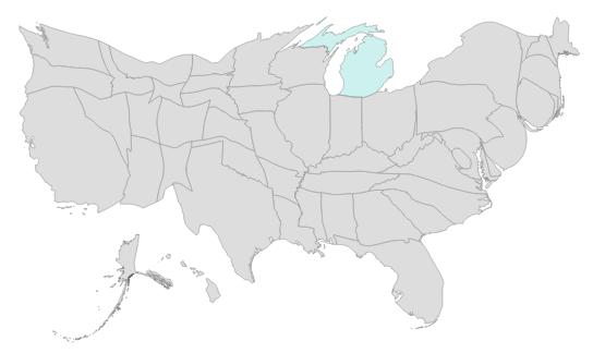 TopoJSON Map Files for Power BI Shape Map