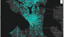 Power BI Firefly Glow - Mapbox - DataVeld
