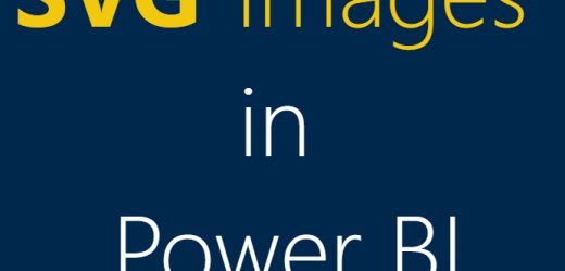 Power BI SVG Image Webinar Recording and Materials