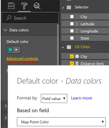 Display Points within a Distance Radius on a Power BI Map - DataVeld