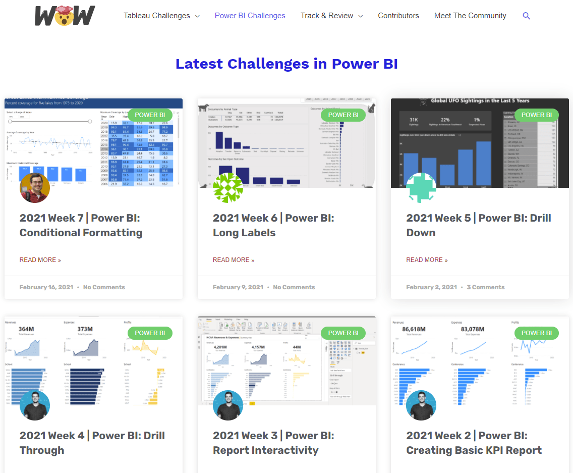 Have You Completed a WORKOUT WEDNESDAY for Tableau or Power BI?