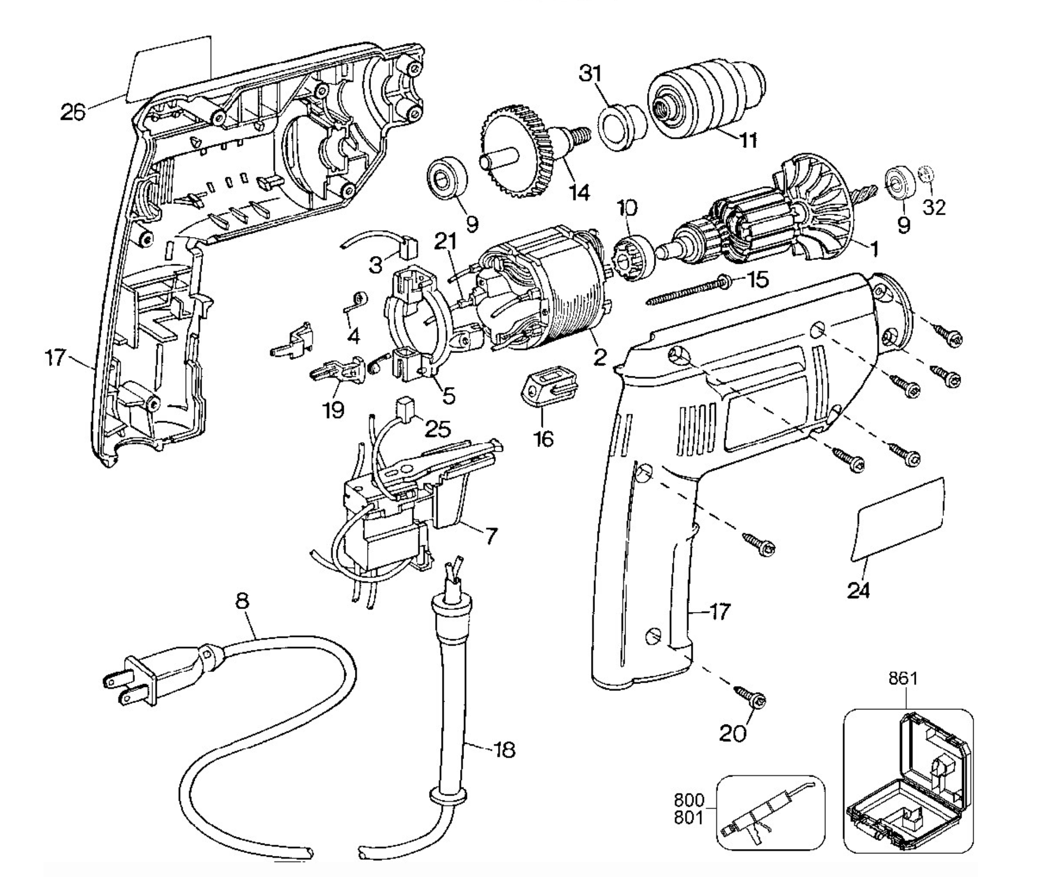Exploded View Drawing