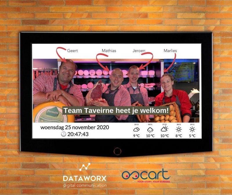 DATAWORX - Oscart bij Slagerij Taveirne