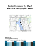 Garden Homes and the City of Milwaukee Demographics Report FINAL