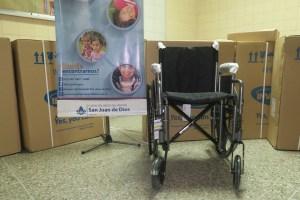 Yammine - Donación Sillas de rueda al Hosiptal San Juan de Dios
