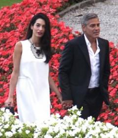 George Clooney Amal Alamuddin 062414 Ramey Photo E1412113521124