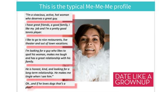 Online dating profile samples for females