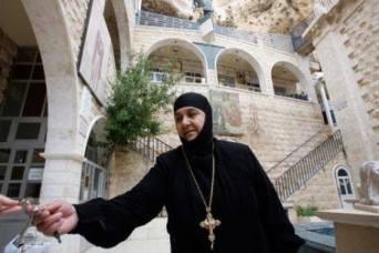 Orthodox nun