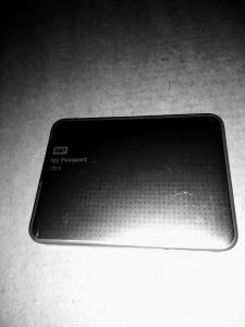 Meine externe WD Festplatte