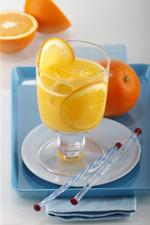 Orangensaft - lecker aber für die Festplatte nicht gesund.