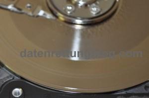 Festplatte nach Sturz