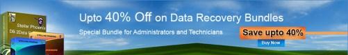 Stellar Phoenix Datenrettung Software, bis zu 40 % sparen.
