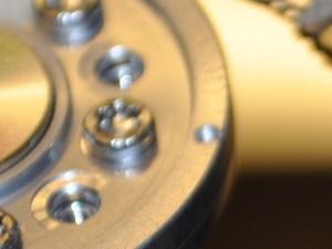 Datenrettung, Detail WD Festplatte