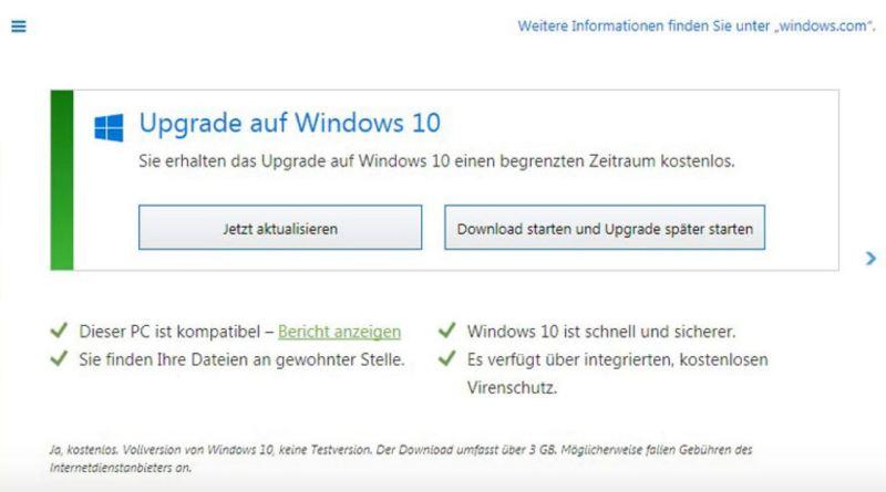 Windows 10 Popup Deaktivieren