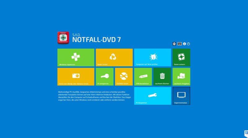 S.A.D. Notfall DVD 7 für Windows