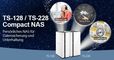 QNAP TS-x28 Heim-NAS mit Dual-Core-Prozessor