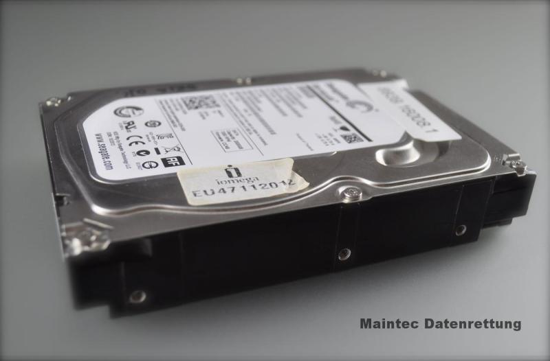 Defekte Seagate aus NAS. Bild: Maintec Datenrettung