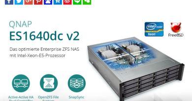 Optimiertes Enterprise ZFS NAS von QNAP