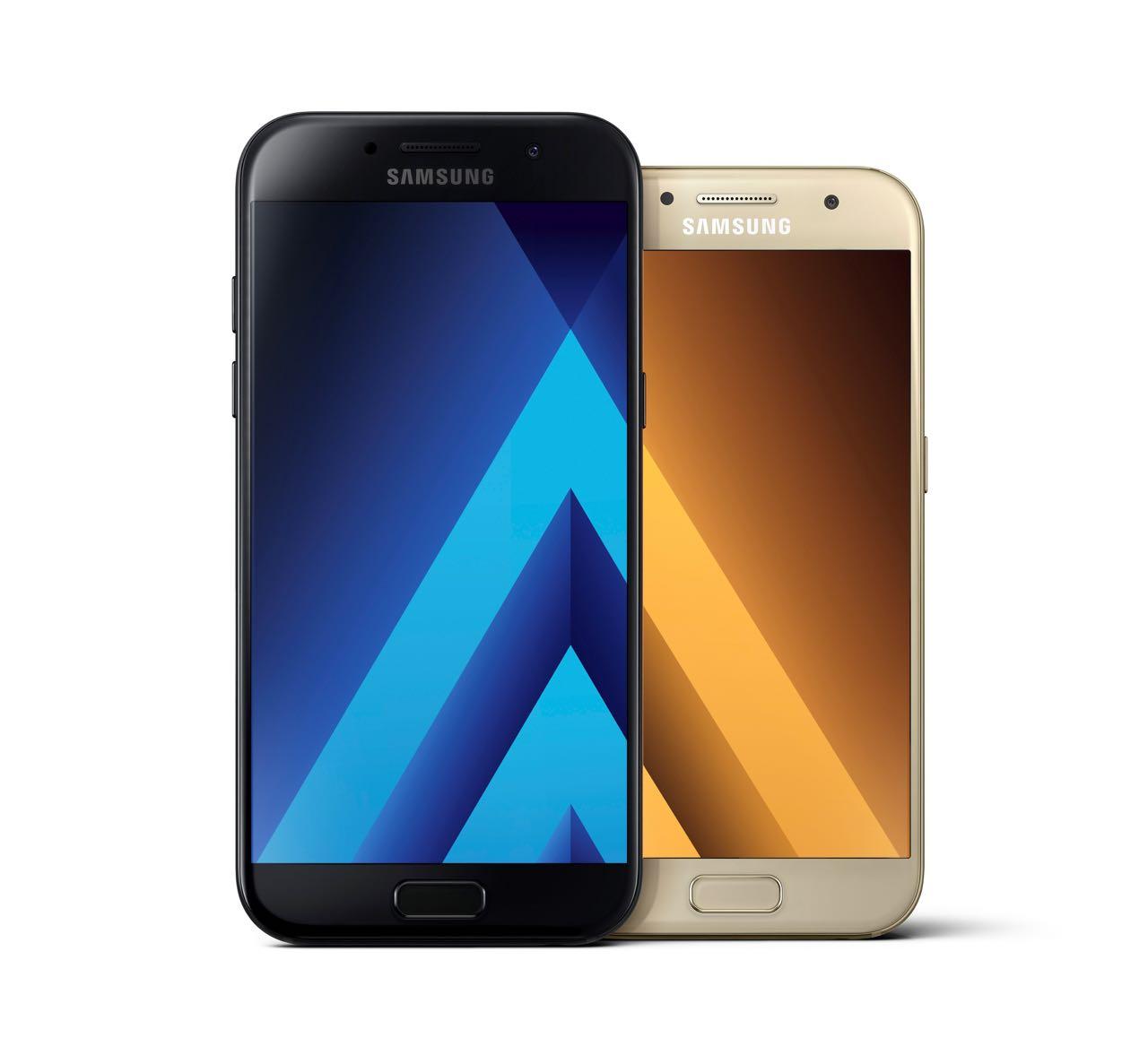 Samsung Galaxy A5 Fingerabdruck