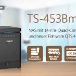 QNAP TS-453Bmini mit QTS 4.3