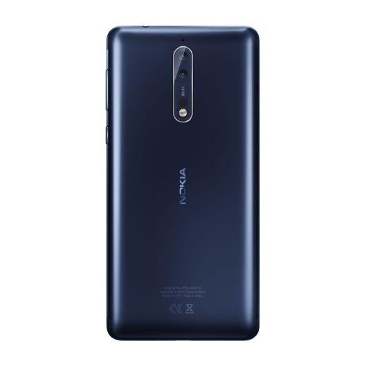 Nokia 8 Tempered Blue. Bild: HMD Global
