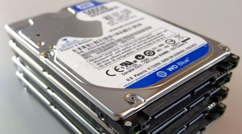 Festplatten zur Datenrettung. Verlangen Sie eine Dateiliste!