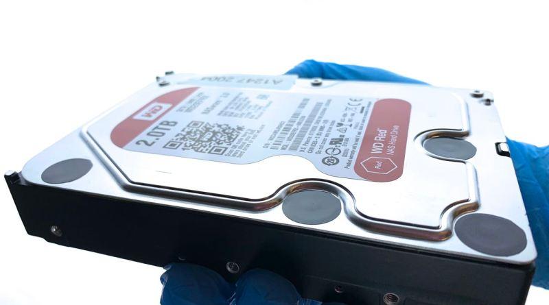 WD NASware Festplatte zur Datenrettung