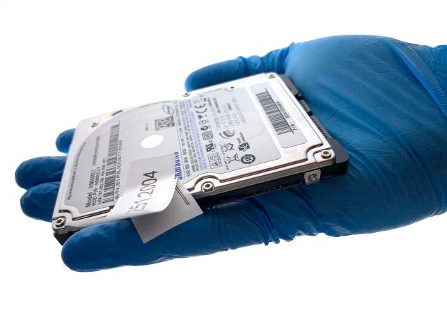 Samsung HM400LI zur Datenrettung. Nach chkdsk nicht mehr ansprechbar