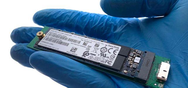 Sandisk X600 SSD mit BitLocker verschlüsselt