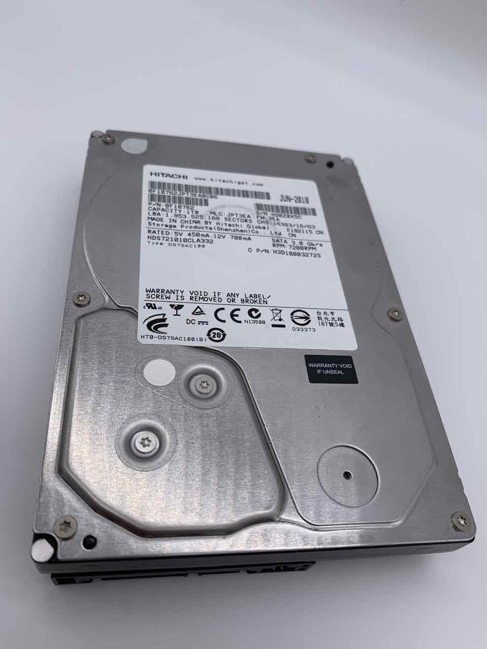 Externe Hitachi Festplatte wird nicht mehr erkannt